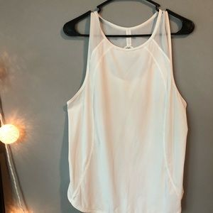 lululemon athletica Tops - Lulu white workout top